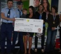 Participant Tania gets awarded $2000 for her amazing transformation