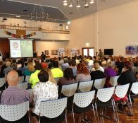 The Food Patrol educate Wollongong Council employees on the 'Secret to Maximum Fat Loss in 90 Days' principals.
