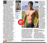 The Food Patrol  feature in 'Men's Fitness' magazine.